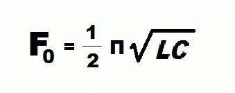 Формула резонансной частоты
