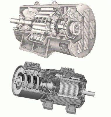 Различные конструкции генераторов