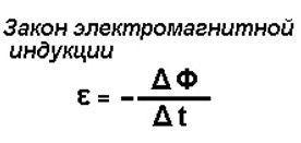 Формула образования ЭДС