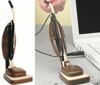 Компьютерный мини пылесос