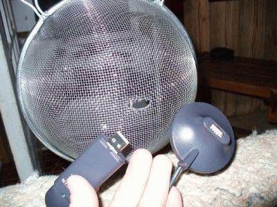 Самодельная Wi-Fi антенна