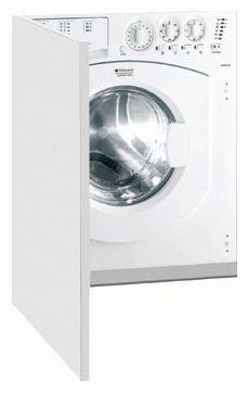 Встраиваемая узкая стиральная машина с сушкой Ariston
