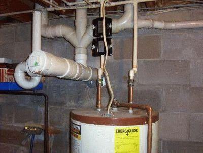 Крепление водонагревателя к кирпичной стене