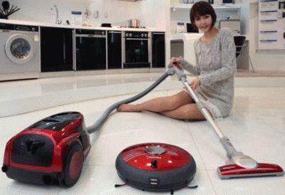 Моющий пылесос и робот-пылесос