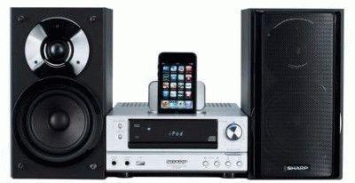 Музыкальный центр с возможностью воспроизведения записей с iPоd