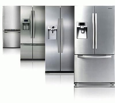 Разные объемы холодильников