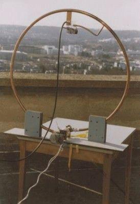 Антенна магнитная