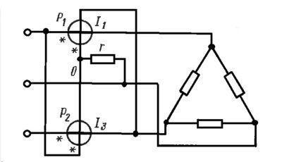 Методика двух ваттметров