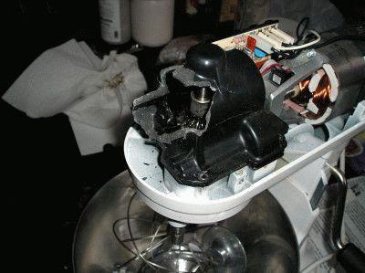 Двигатель стационарного миксера