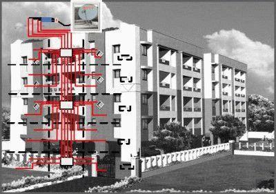 Схема подключения ТВ антенн в многоквартирном доме