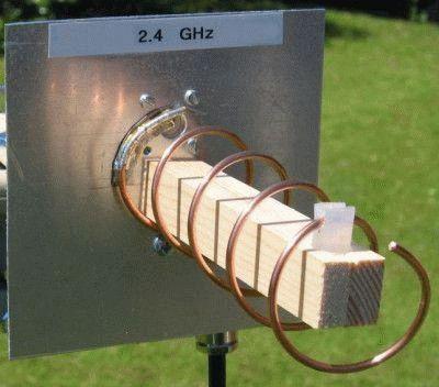Самодельная спиральная антенна