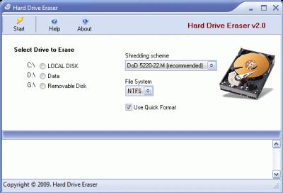 Форматирование жёсткого диска