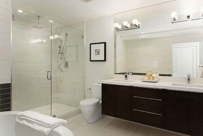Ванная комната должна быть светлой