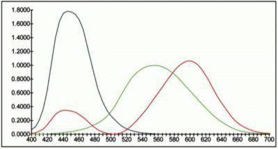 Модель цветов Дэвида Райта и Джона Гилда