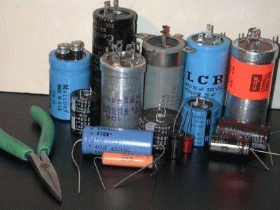 Высоковольтные электролитические конденсаторы