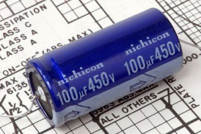Маркировка на конденсаторе