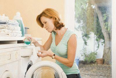 Загрузка стиральной машины