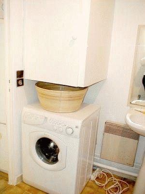 Стиральная машина в маленькой ванной