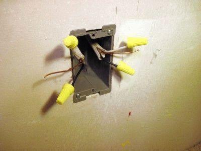 Разводка кабелей