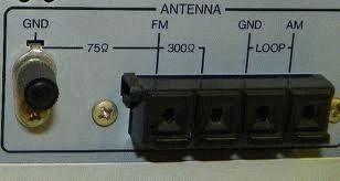 Подключение FM антенны