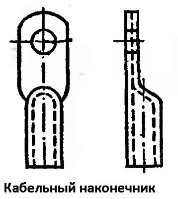 Прессованный кабельный наконечник