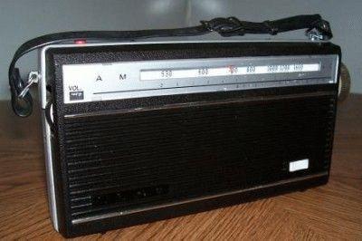 Старый радиоприемник
