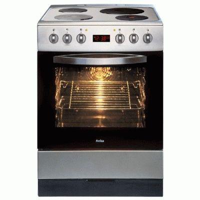 Кухонная плита с конфорками-блинами