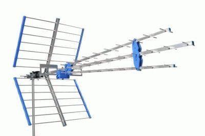 Направление антенны для улавливания сигнала