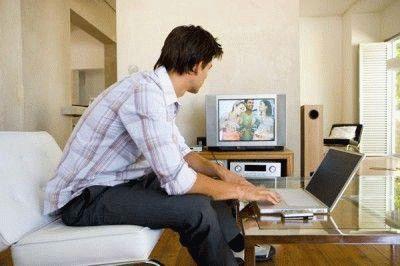 Подключение ТВ к ПК