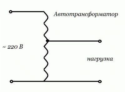 Устройство автотрансформатора
