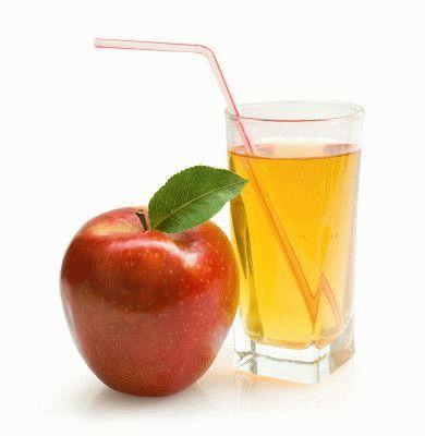 Яблочный сок из соковыжималки