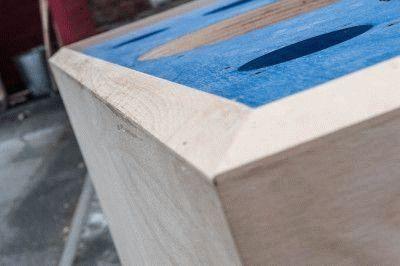Результат обработки деревянной заготовки