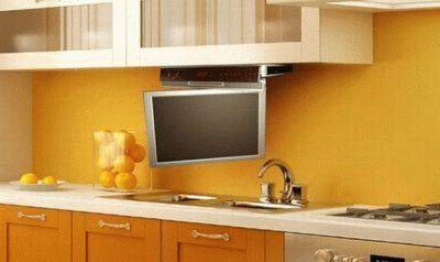 Телевизор для небольшой кухни