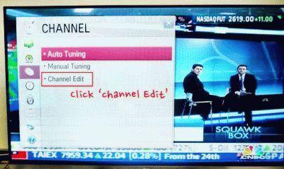Настраиваем каналы на телевизоре